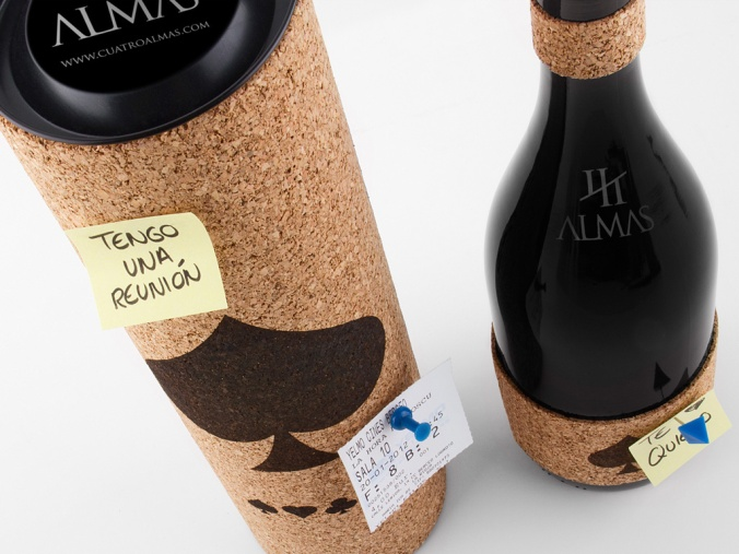 CuatroAlmas-Packaging-Corcho detalle - packandwine