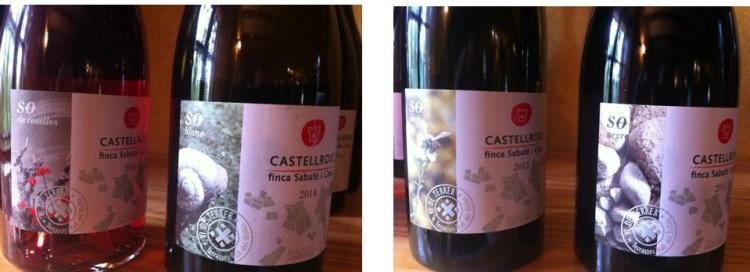 Castellroig 2015 - etiquetas - packandwine