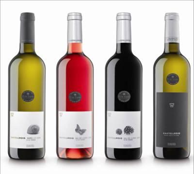 vins castellroig - antiguas etiquetas - packandwine