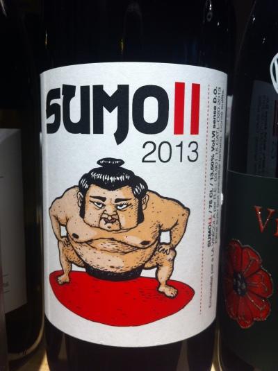 la vinicola - sumo II - packandwine
